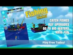 Fishing Clicker. Like clicker games? Like fishing? Have you ever wanted to be fishing pro and own big fishing boat? Your dream of becoming the next fishing pro is about to get real in Fishing Clicker, the idle clicker game that tells your fishing career evolution from trash to shark catching.