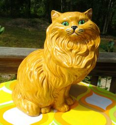 persian cat reproduction of a original sculpture richard recchia
