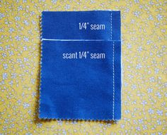A Scant Quarter Inch is a measurement that is 1 to 2 thread-width narrower than an exact Quarter Inch. So, if use an exact quarter inch allowance, you will be sewing into the finished piece by 1 to 2 threads width too much. Keep in mind the Scant 1/4 inch seam is also determined by …