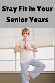 You may not be as nimble as you once were, but that shouldn't stop you from working out and maintaining your health and fitness as you get older.