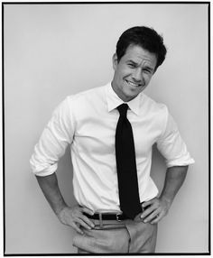 Mark Wahlberg....handsome, humble, talented, funny, smart AND a loving family man?! Where can I find another one of him?