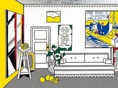 """""""Artist's Studio No. 1 (Look Mickey),"""" 1973© Estate of Roy Lichtenstein[content:shareblock]"""