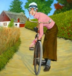 A bike ride is always a respectable way to travel. The exercise is beneficial for all ages.