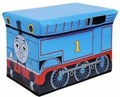 Thomas Train Extra Large Collapsible Storage Ottoman bedroom kids toys boys bin