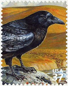 2003 Arctic Tundra: Common Raven for sale at Mystic Stamp Company