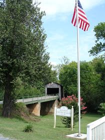The Bluebird Patch: Georgia's Hidden Treasures - Euharlee Covered Bridge