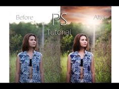 Photoshop CC Tutorial : Outdoor Portrait edit Using Nik Collection - YouTube