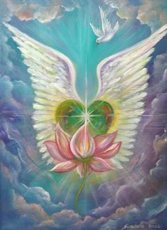 Emerging Love Opening Heart by Sundara Fawn