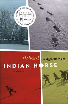 """""""Indian Horse"""" by Richard Wagamese.  A novel about a Canadian First Nations person who was sent to a terrible residential school.  More of the discussion was about the First Nations situation in Canada and the author's biography than about this book as a piece of literature."""