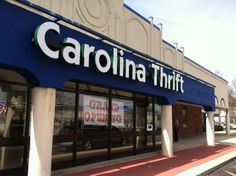 *mapped* 10 Incredible Thrift Stores In North Carolina Where You'll Find All Kinds Of Treasures Durham North Carolina, Camping In North Carolina, Charlotte North Carolina, North Carolina Homes, Carolina Beach, South Carolina, Elizabeth City North Carolina, Charlotte Nc, Chapel Hill Nc