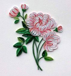 Quilling Rose Flower