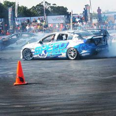 #drifting #action at Auto Trader stand #randeastershow 2014
