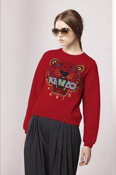 Kenzo Womens Tiger Sweatshirt - Kenzo FW13 Icons Women - Kenzo E-shop