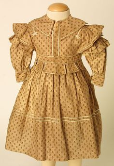 Dress c.1836-1840 Manchester City Galleries