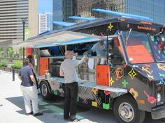 Food Truck Food Court, Thursdays 11am-2pm (May 31-Sept 27) » Columbus Commons