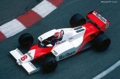 Niki Lauda, McLaren MP4/1C, 1983 Monaco GP
