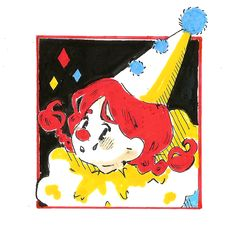 Character Design Animation, Clowns, Cute Art, Scary, Carnival, My Arts, Snoopy, Drawings, Happy