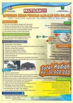 Sayembara Desain Penataan Alun-Alun Kota Malang http://bit.ly/19LWHko