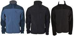 Kirkland Mens Performance Softshell Jacket Water Resistant Windproof Fleece Coat #KirklandSignature #Windbreaker