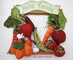 Projeto Enfeite de Cozinha com Legumes