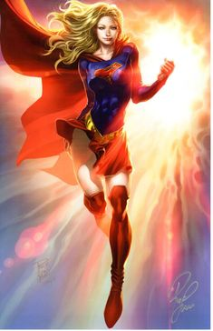 PHILIP TAN - THE BEAUTY OF SUPERGIRL ART PRINT