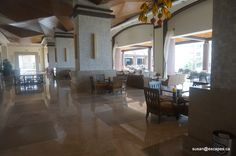 Now Amber, Puerto Vallarta. , the lobby with great areas to sit and enjoy the view