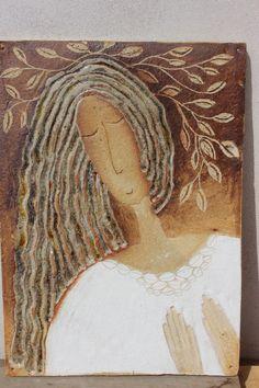 pramínky vlasů / Zboží prodejce zu straková | Fler.cz Modern Art, Goddess Art, Pottery, Arty, Drawings, Ceramics, Painting, Sculpture, Art