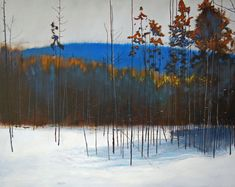 oil on wood panel<br> David Lidbetter Fine Art