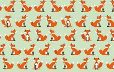 Forest Friends Andover Makower Fabric Cute Foxes Fox on Light Aqua Teal by AllegroFabrics on Etsy https://www.etsy.com/listing/242482201/forest-friends-andover-makower-fabric