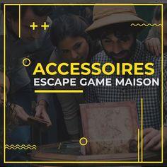 Découvrez tous les accessoires pour un Escape Game fait à la maison. Cadenas, énigmes, casse-têtes pour un escape games anniversaire, mariage pour adultes ou enfants.