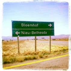 The road to my favourite place, Nieu - Bethesda.