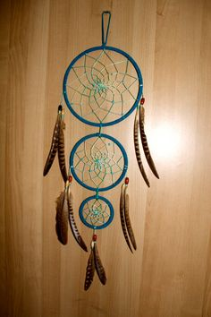 """Dream Catcher: 7"""", 5"""", and 3"""" Hoops. $39.00, via Etsy."""