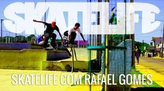 """Rafael Gomes #SKATELIFE - http://DAILYSKATETUBE.COM/rafael-gomes-skatelife/ - Rafael Gomes #SKATELIFE O Canal Skatelife ficou na cola do skatista profissional Rafael Gomes por um dia, na região de Maringá, norte do Paraná. Rafael foi andar com seus amigos na pista da cidade de Sarandi e depois no centro de Maringá. Participação especial: Leo Giacon, Edgar Lima """"Motoca"""", Pedr - Gomes, rafael, skatelife"""