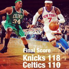 Knicks beat Boston