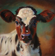 Teresa Elliott art great website, more cattle Cow Painting, Painting & Drawing, Art And Illustration, Monte Fuji, Cow Pictures, Farm Art, Cow Art, Western Art, Animal Paintings