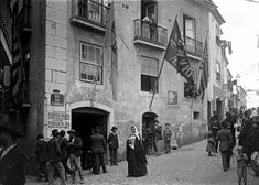 Lisboa de Antigamente: Rua das Farinhas