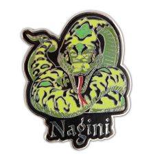 harry potter pins   This Nagini pin is multicolored and has a hard-enamel fill with a ...