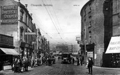 Barnsley Cheapside in the good old days - do you remember it? Photo courtesy of John Irwin. Barnsley South Yorkshire, Past Life, Do You Remember, The Good Old Days, Street View, History, Places, Pictures, Crafts