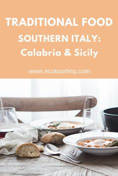 I love Italian food, especially southern Italian food! Guess which foods from Calabria & Sicily I wrote about over on the EcoTourLinQ website. What's your favorite southern Italian food?
