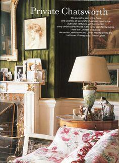 The World of Interiors, October 2001. Photo - Simon Upton