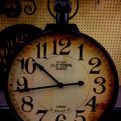 @hobby lobby $199 pocket watch clock
