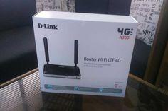 Sprzedam nowy i nie używany, fabrycznie zapakowany, Router D-Link N300 WiFi LTE 4G DWR-921 do współdzielenia łącza 4G LTE/3G
