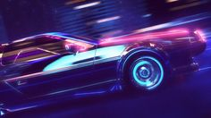 This is a short 80s style promo animation I created in Cinema 4d. I used the Turbulence FD plugin for the fog.