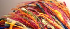 Colourful threads in the Blue Nest.