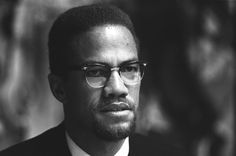 Malcolm X, the charismatic black activist, spoke in Notting Hill to a crowded meeting of supporters of the civil rights  movement in the USA. He was assassinated shortly afterwards in New York in February 1965.