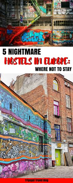 5 nightmare hostels of my life: the worst hostels in Europe! Check these terrible hostels in Europe plus a bad hostel in New York City NYC as a bonus!