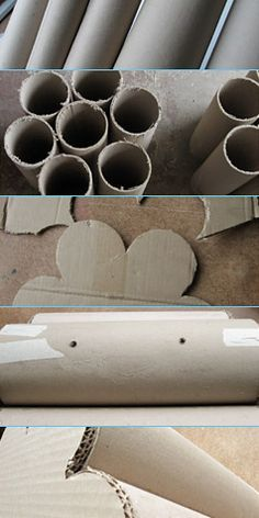 26 DIY Cardboard Furniture Ideas That Are Surprisingly Practical Diy Cardboard Furniture, Paper Furniture, Cardboard Paper, Cardboard Crafts, Cool Furniture, Furniture Ideas, Carton Diy, Tube Carton, Diy Stool