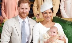 Prince Harry and wife Meghan Markle release stunning official portrait's from son Archie's christening - and they bear special similarities to Princess Diana Meghan Markle, Duchess Kate, Duke And Duchess, Lady Sarah Mccorquodale, Christening Photos, Markle Prince Harry, Royal Babies, Hollywood, Duchess Of Cornwall