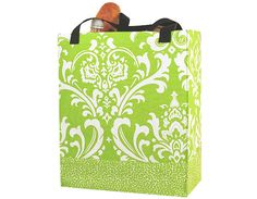 """Take """"Going Green"""" to a new level. Perfect shopping bag, stylish tote to look stylish while shopping. $22.95"""