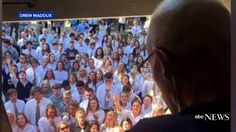 400 Students Gather Outside Cancer Stricken Teacher's Home to Sing